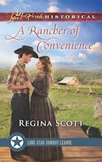 A Rancher of Convenience (Love Inspired Historical)