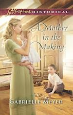 A Mother in the Making (Love Inspired Historical)