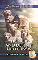 Honor and Defend (Love Inspired Suspense)