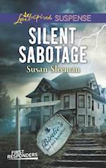 Silent Sabotage (Love Inspired Suspense)