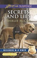 Secrets and Lies (Love Inspired Suspense (Large Print))