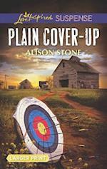 Plain Cover-Up (Love Inspired Suspense (Large Print))