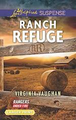 Ranch Refuge (Love Inspired Suspense (Large Print))
