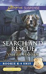 Search and Rescue (Love Inspired Suspense (Large Print))