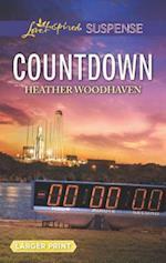 Countdown (Love Inspired Suspense (Large Print))