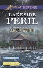 Lakeside Peril (Love Inspired Suspense (Large Print))