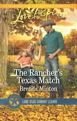 The Rancher's Texas Match (Love Inspired)