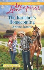 The Rancher's Homecoming (Love Inspired (Large Print))