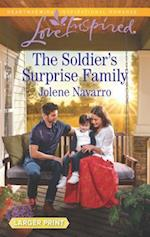 The Soldier's Surprise Family (Love Inspired (Large Print))