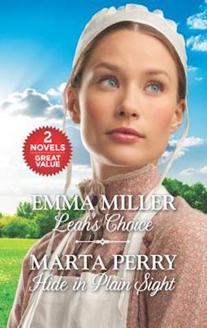 Bog, paperback Leah's Choice and Hide in Plain Sight af Emma Miller