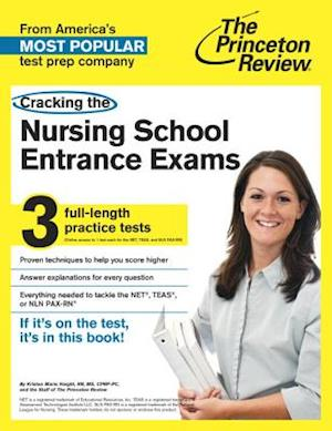 Cracking the Nursing School Entrance Exams af Princeton Review