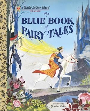Blue Book of Fairy Tales af Golden Books