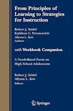 From Principles of Learning to Strategies for Instruction-with Workbook Companion af Robert Seidel, Kathy C Perencevich, Allyson L Kett