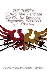 The Thirty Years' War af Sigfrid H. Steinberg, S. H. Steinberg