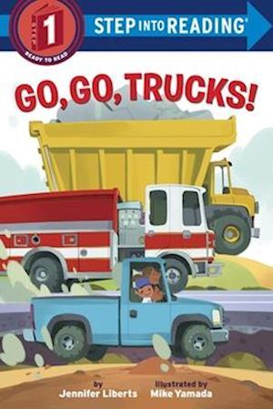 Bog, paperback Go, Go, Trucks! af Jennifer Liberts
