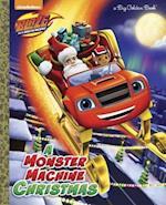 A Monster Machine Christmas (Big Golden Books)