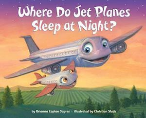 Bog, hardback Where Do Jet Planes Sleep at Night? af Brianna Caplan Sayres