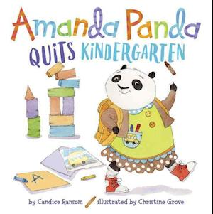 Bog, ukendt format Amanda Panda Quits Kindergaten af Candice Ransom