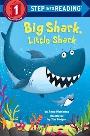 Bog, paperback Big Shark, Little Shark af Anna Membrino