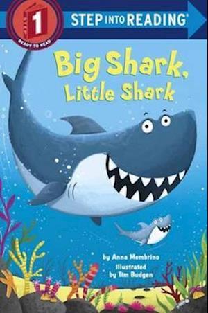 Bog, ukendt format Big Shark, Little Shark af Anna Membrino