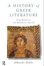 History of Greek Literature af Albrecht Dihle