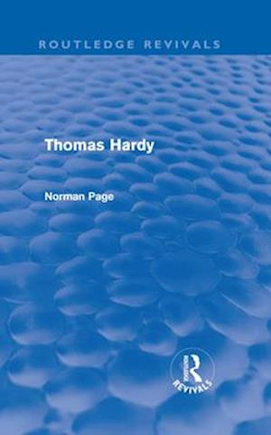 Thomas Hardy af Norman Page