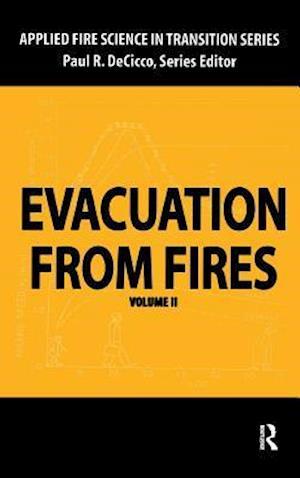 Bog, hardback Evacuation from Fires af Paul R. DeCicco