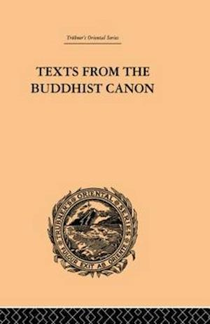 Texts from the Buddhist Canon af samuel Beal