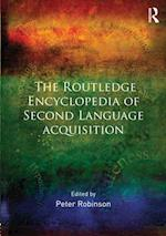 The Routledge Encyclopedia of Second Language Acquisition