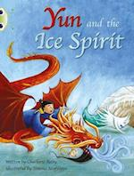 Yun and the Ice Spirit (Turquoise B) af Charlotte Raby