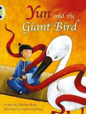 Yun and the Giant Bird (Purple B) af Charlotte Raby
