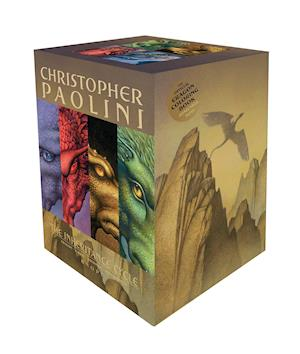 Inheritance Cycle 4-Book Trade Paperback Boxed Set (Eragon, Eldest, Brisingr, in af Christopher Paolini