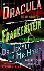 Frankenstein, Dracula, Dr. Jekyll and Mr. Hyde af Mary Wollstonecraft Shelley, Bram Stoker, Stephen King
