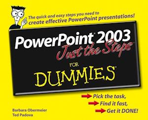 PowerPoint 2003 Just the Steps For Dummies af Barbara Obermeier
