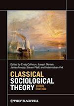 Classical Sociological Theory af Steven Pfaff, Joseph Gerteis, Craig J Calhoun