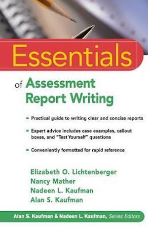 Essentials of Assessment Report Writing af Elizabeth O. Lichtenberger