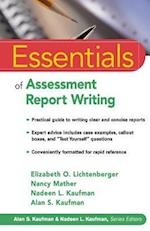 Essentials of Assessment Report Writing af Elizabeth O. Lichtenberger