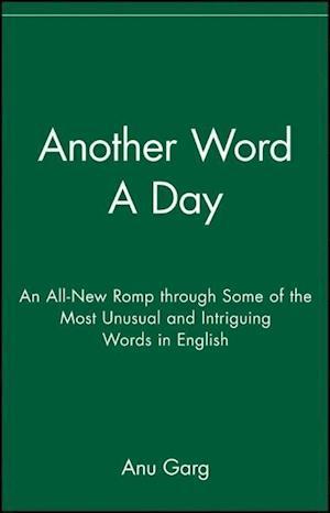 Bog, paperback Another Word a Day af Anu Garg