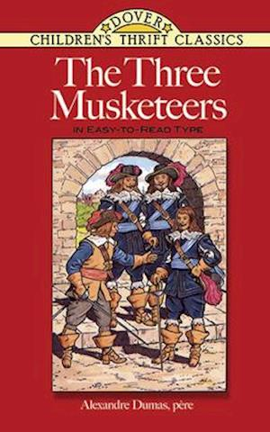 Bog, paperback The Three Musketeers af Alexandre Dumas