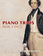 Piano Trios Nos. 1 and 2 af Felix Mendelssohn-Bartholdy