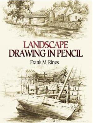 Landscape Drawing in Pencil af Frank M. Rines