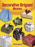 Decorative Origami Boxes af Rick Beech
