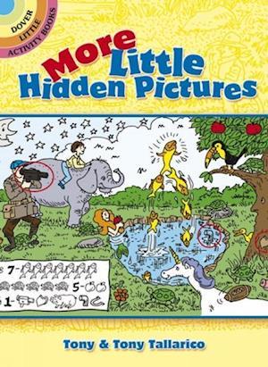 Bog, paperback More Little Hidden Pictures af Tony Tallarico