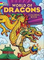 World of Dragons Coloring Book af Arkady Roytman
