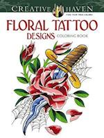 Floral Tattoo Designs Coloring Book af Erik Siuda