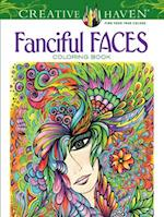 Creative Haven Fanciful Faces Coloring Book af Miryam Adatto