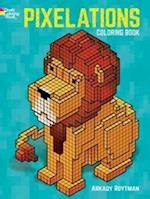 Pixelations Coloring Book af Arkady Roytman