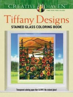 Creative Haven Tiffany Designs Stained Glass Coloring Book af A. G. Smith