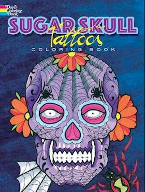 Bog, paperback Sugar Skull Tattoos Coloring Book af Erik Siuda
