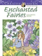 Creative Haven Enchanted Fairies Coloring Book af Barbara Lanza